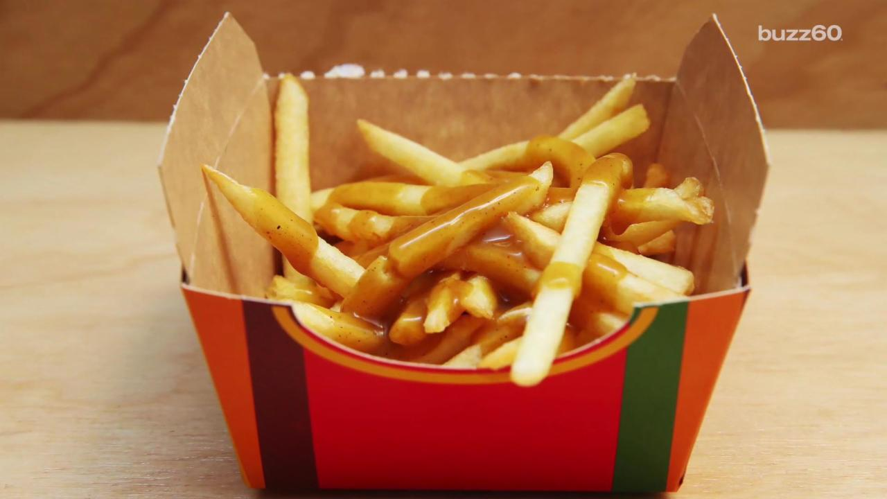 This McDonald's Serves Only French Fries