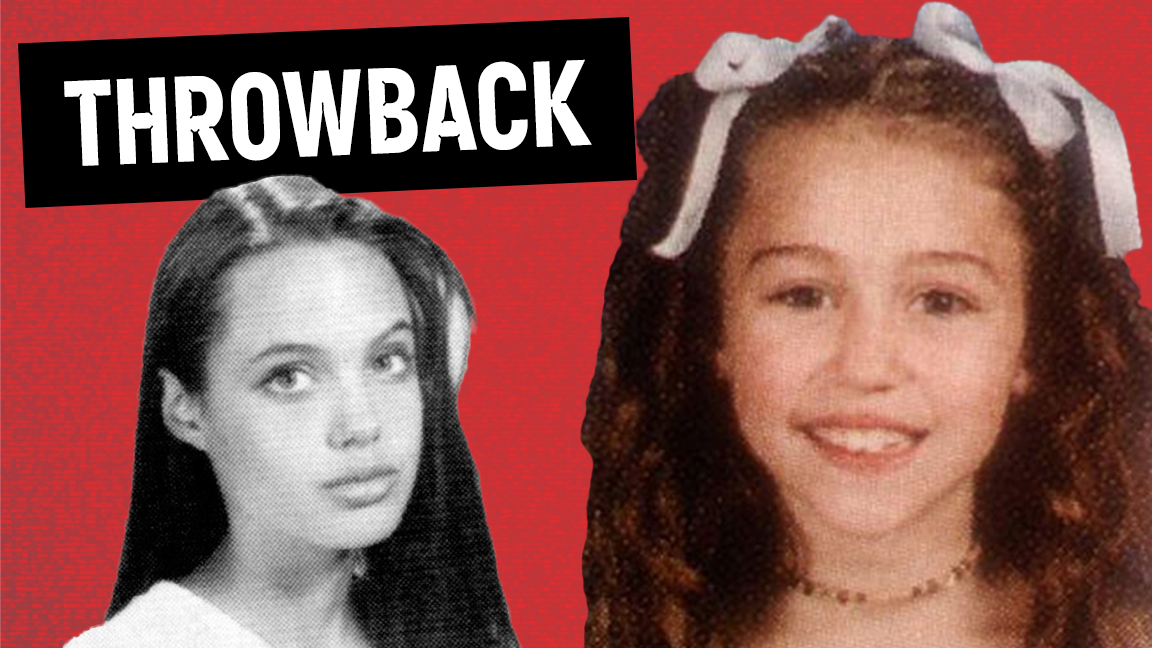 10 Awkward Celebrity Yearbook Photos Before They Were Famous (PART 2) - Throwbac