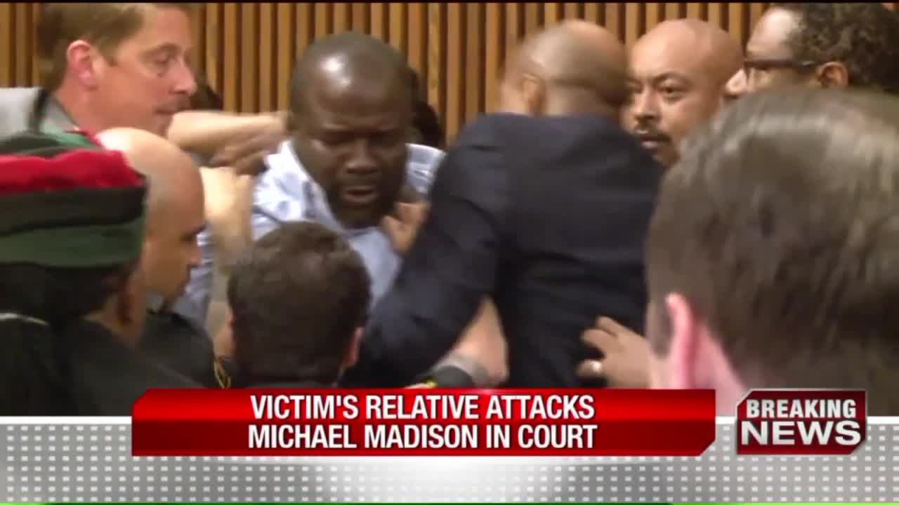 Victim's Father Attacks Serial Killer at Sentencing