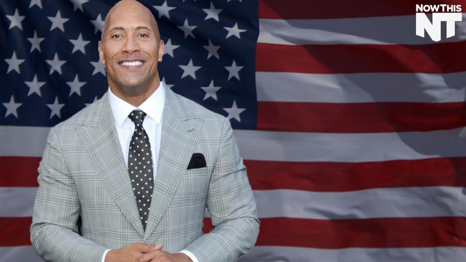 Dwayne 'The Rock' Johnson Might Be President One Day