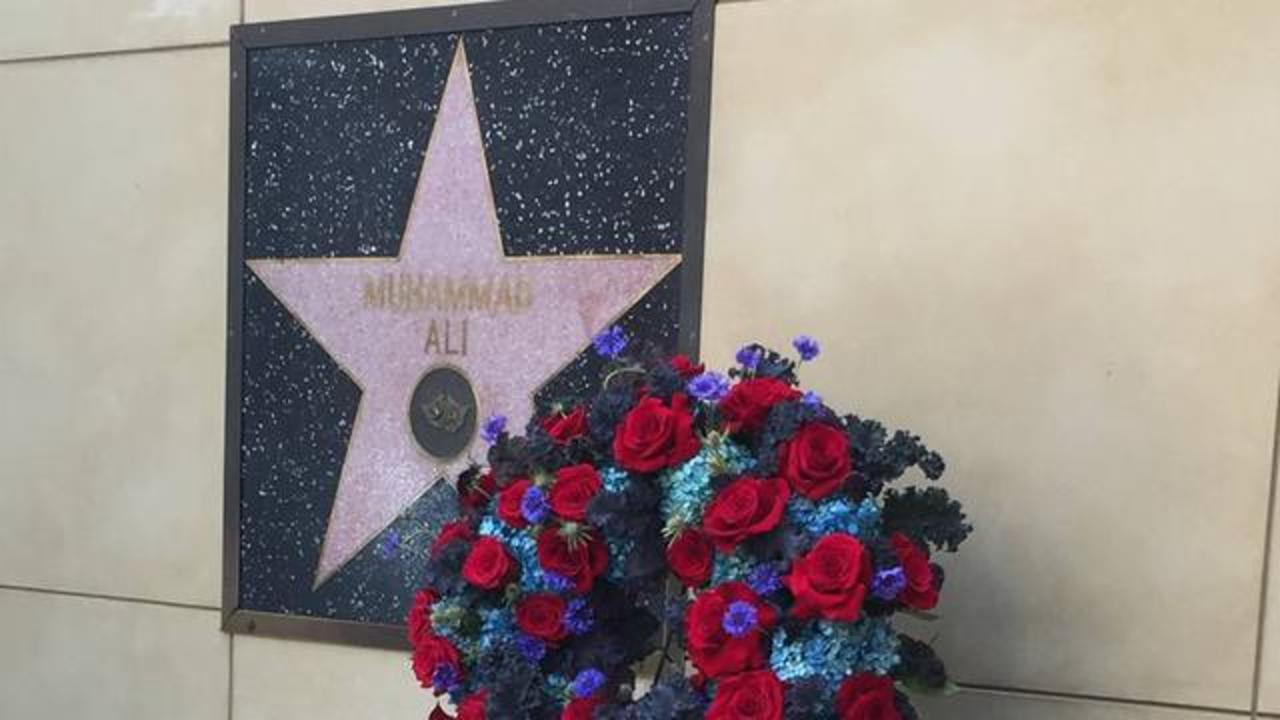 Why Muhammad Ali's Walk Of Fame Star Is The Only One Placed On A Wall