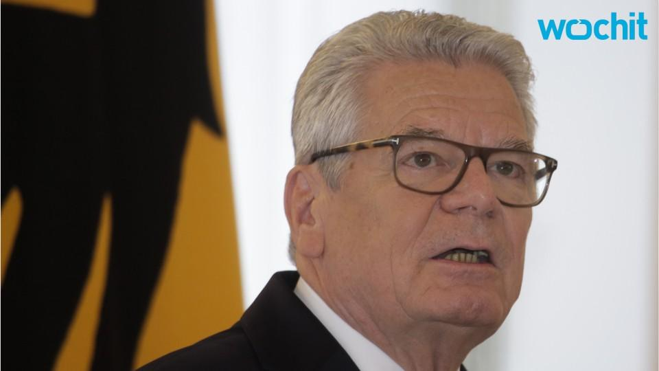 German President Joachim Gauck Will Not Seek Re Election