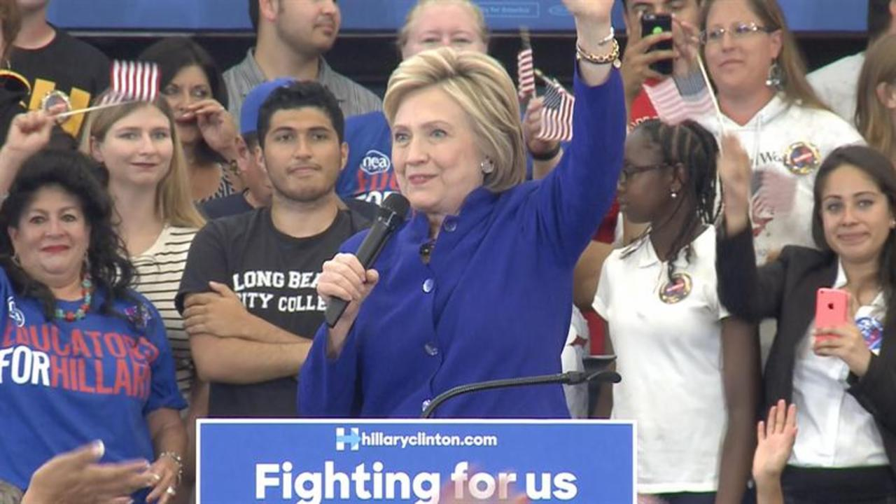 Clinton: 'Historic, Unprecedented Moment'