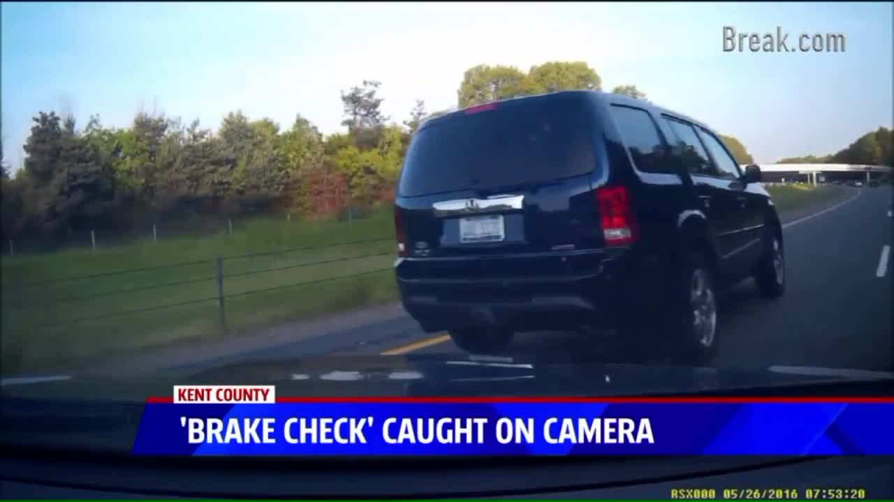 Scary 'Road Rage' Crash Caught on Camera