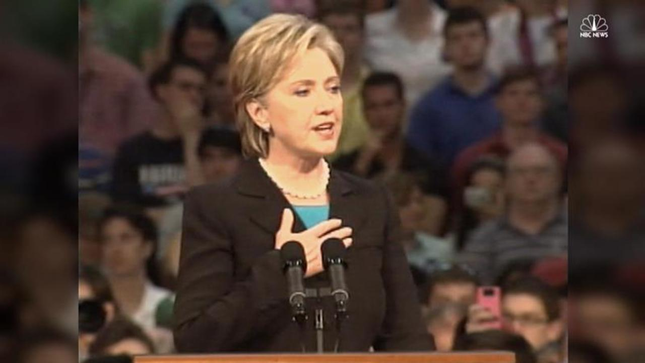 Watch Hillary Clinton's 2008 Concession Speech