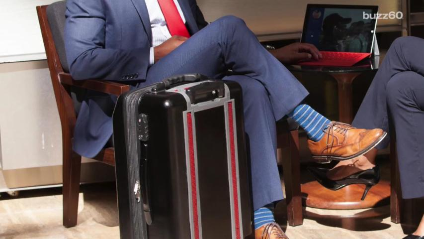 A Suitcase That Climbs Stairs
