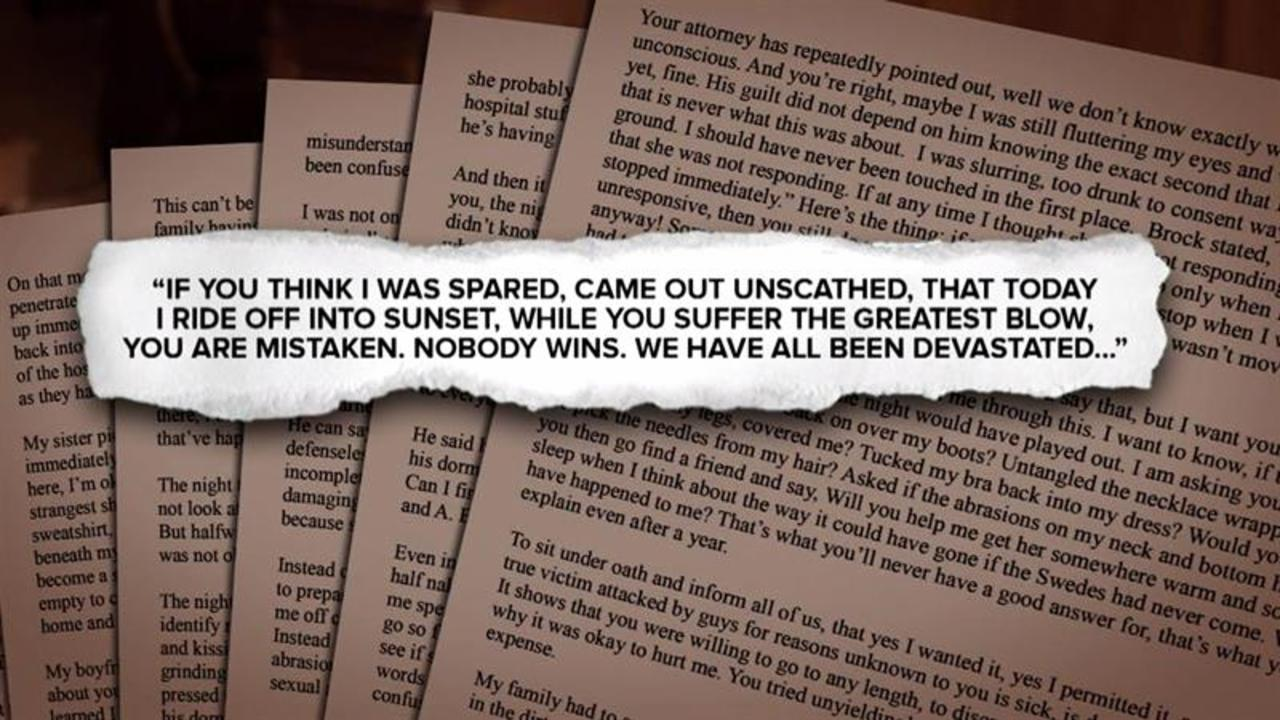 Brock Turner rape case: Why the victim's letter is a 'game changer'