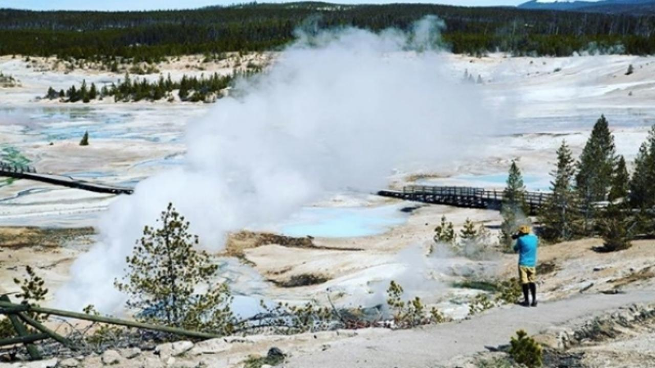 Yellowstone Tourist Believed Dead After Falling Into Hot Spring