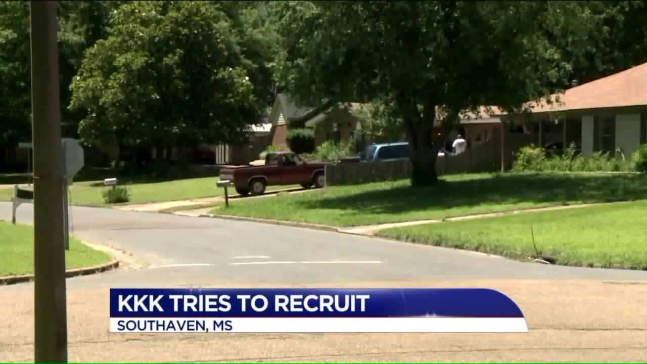 KKK Recruitment Fliers Found in Mississippi Neighborhood