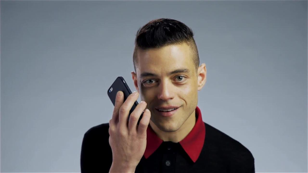 Rami Malek Performs Prince as a Phone Sex Operator