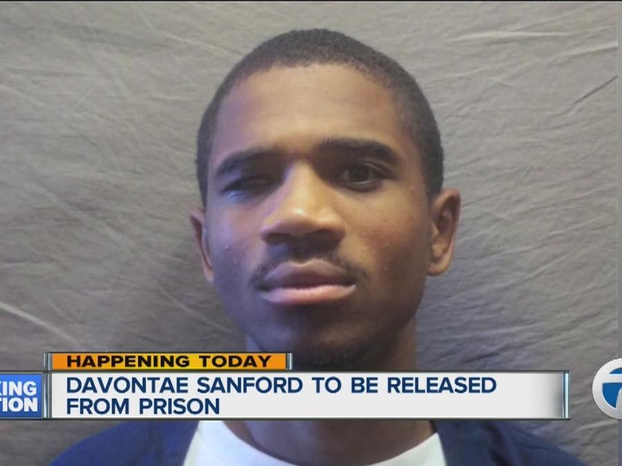 Davontae Sanford to be released from prison