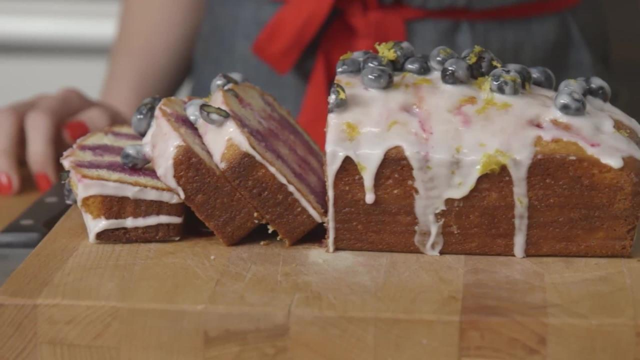 How to Make Lemon-Blueberry Poke Cake