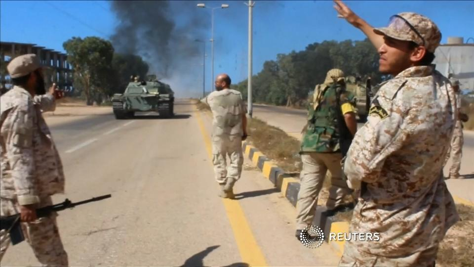 Libyan forces edge closer to IS stronghold