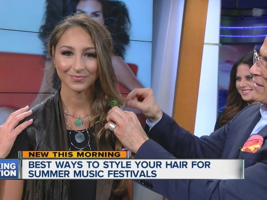 Summer Music Festival Hairstyles