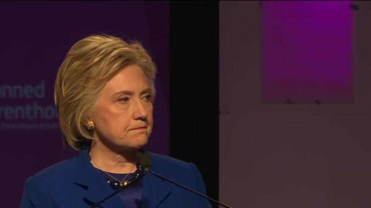 Hillary Clinton: 'Thank you'