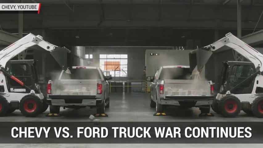 Chevy Ad Proves Truck War Is Alive And Well | Autoblog Minute