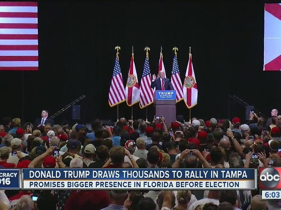 Trump: Florida a must win on road to White House
