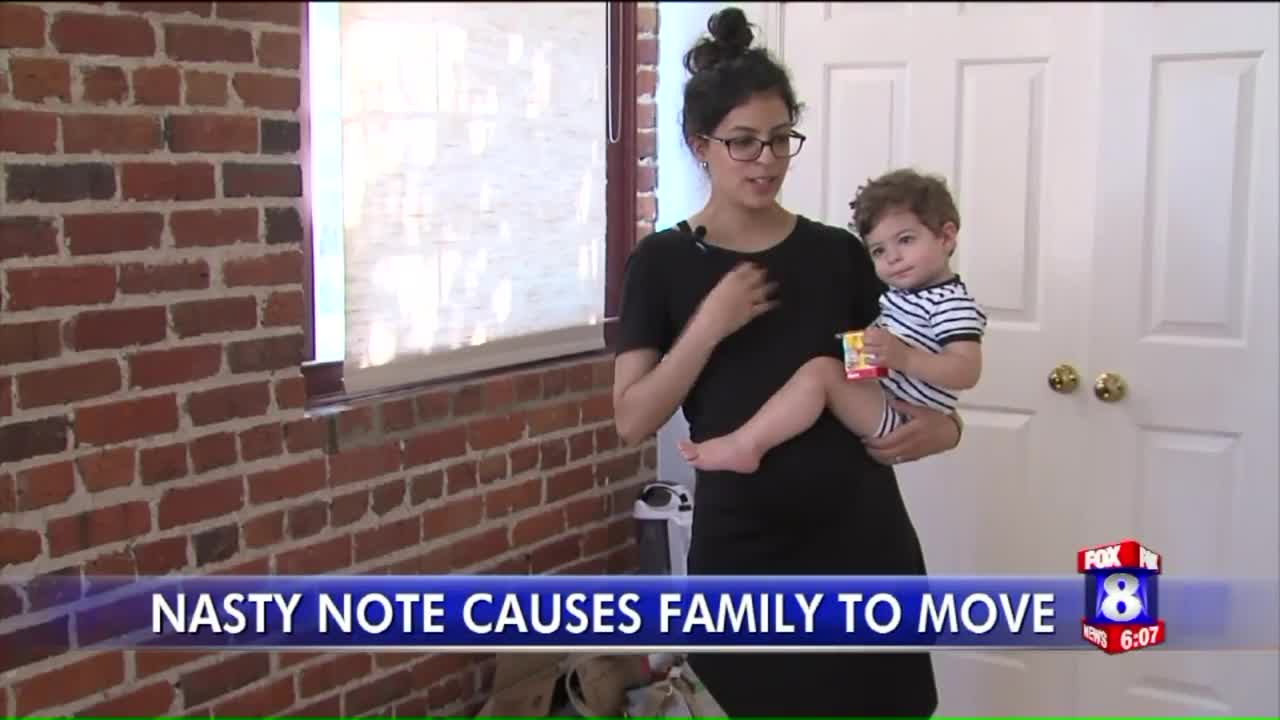 Family Moves After Getting Mean Note from Neighbor About Crying Baby