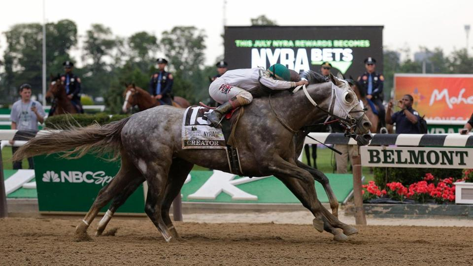 Creator edges Destin in photo finish to win 148th Belmont Stakes