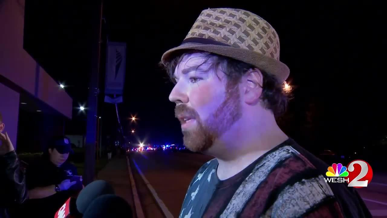 Witness describes Orlando nightclub shooting