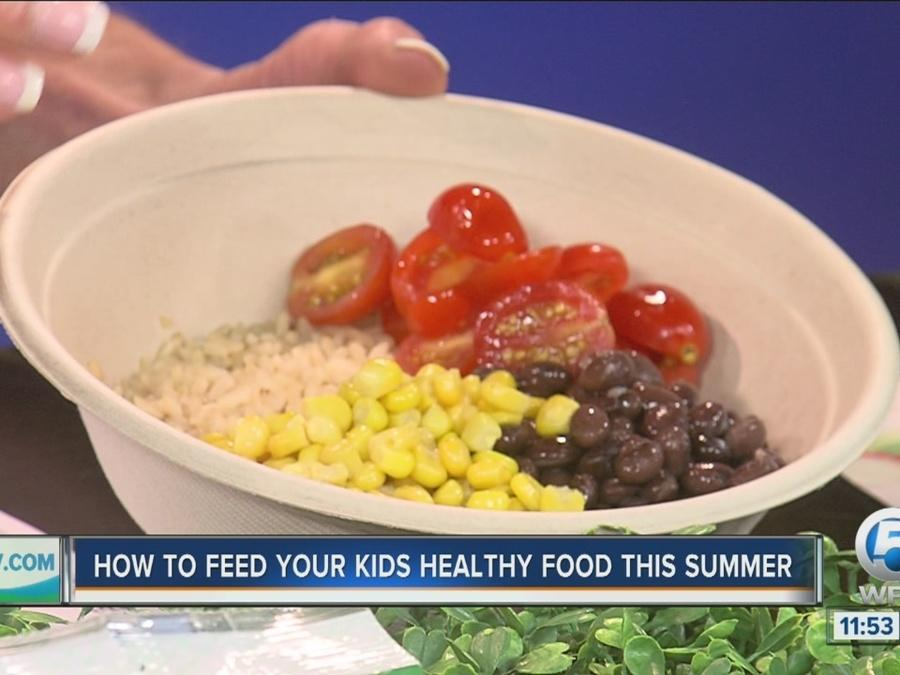 How to feed your kids healthy food this summer