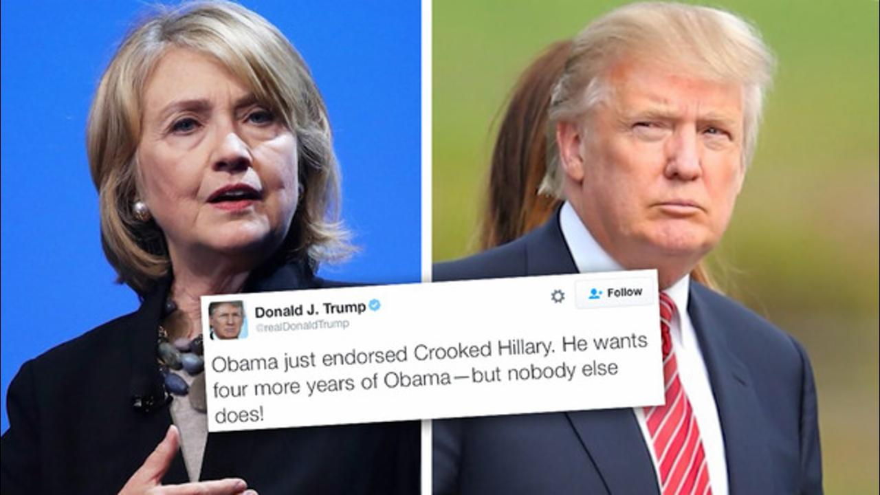 Hillary's Trump Take Down Tweet