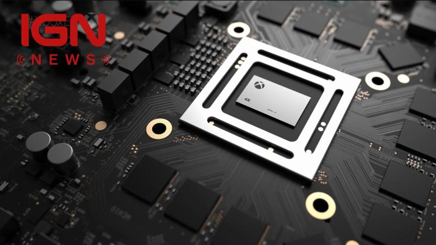 Xbox One Project Scorpio Revealed