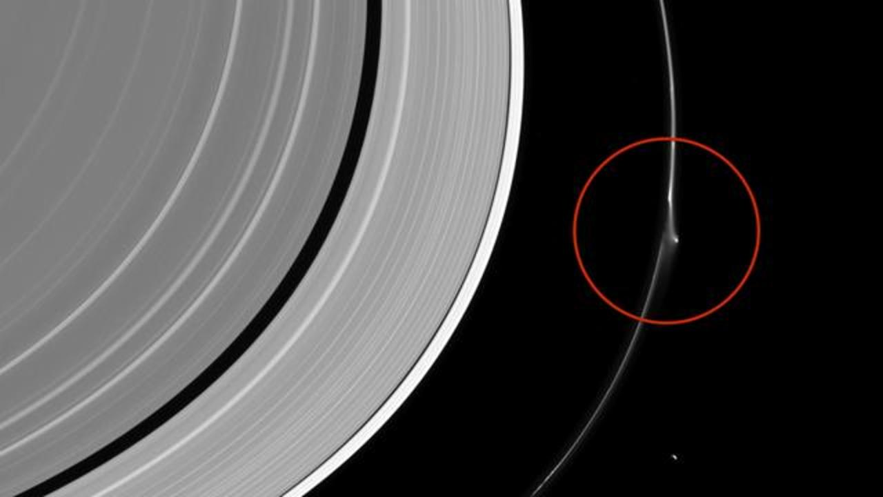 NASA Spots Mysterious Activity In Saturn's F Ring