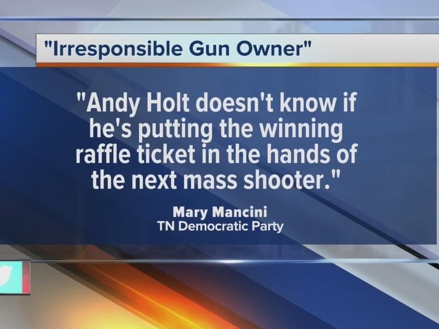 Gun Giveaway At Political Fundraiser Stirs Controversy
