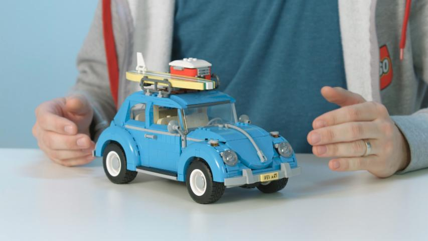 LEGO designer discusses VW Beetle Creator Expert set 10252