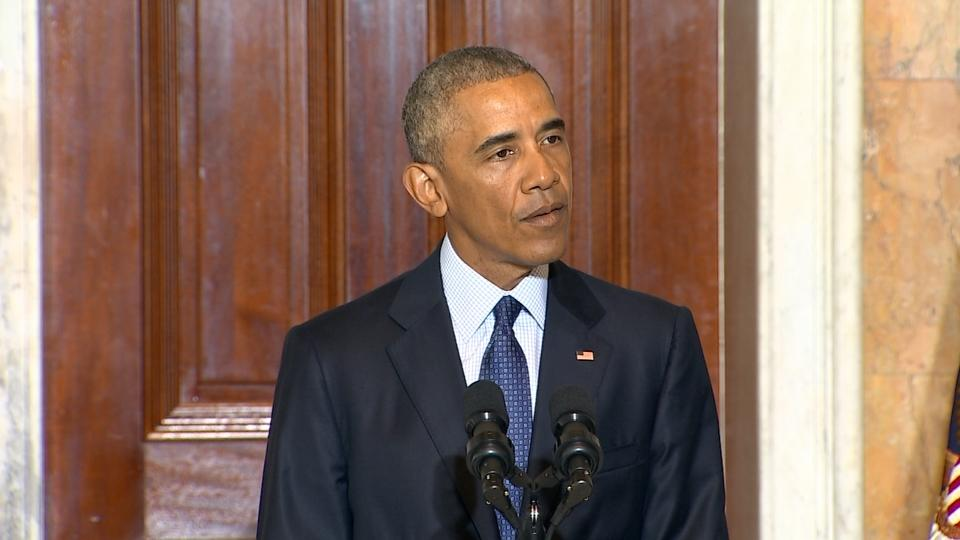 Progress made in mission to defeat ISIL: Obama