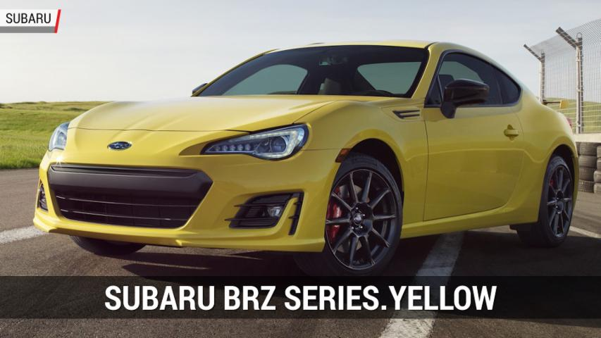 Subaru BRZ Series.Yellow | Autoblog Minute