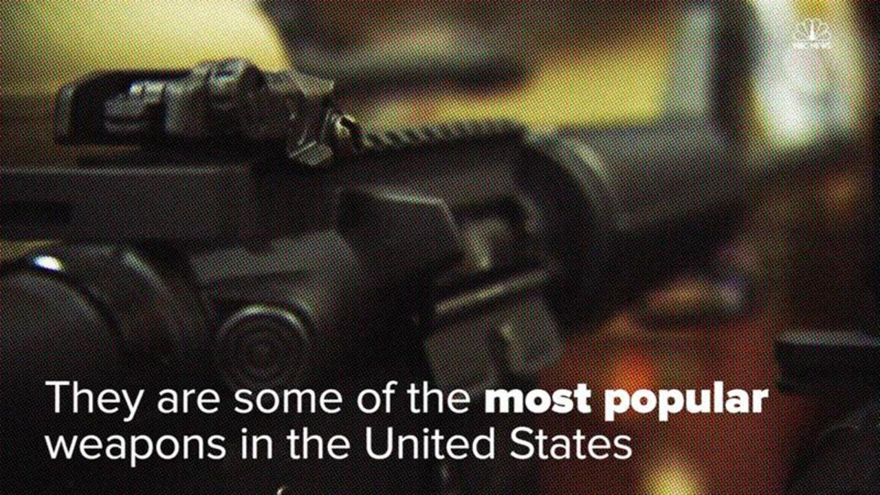 Once Banned, These Assault Rifles Are Hugely Popular in the U.S.