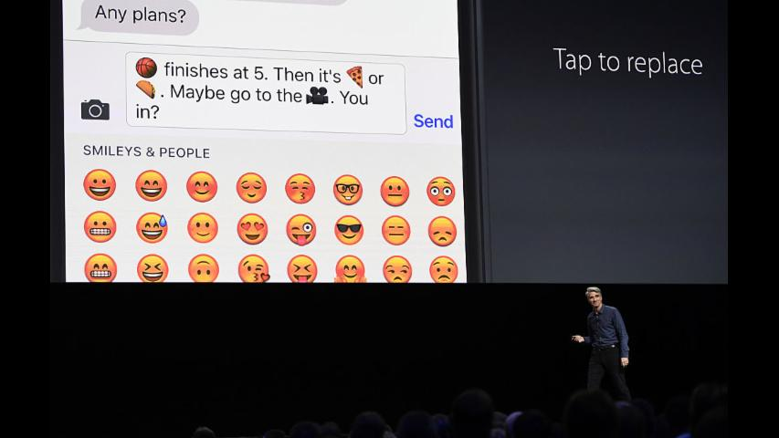 Apple's iMessage is pretty similar to Facebook and Snapchat