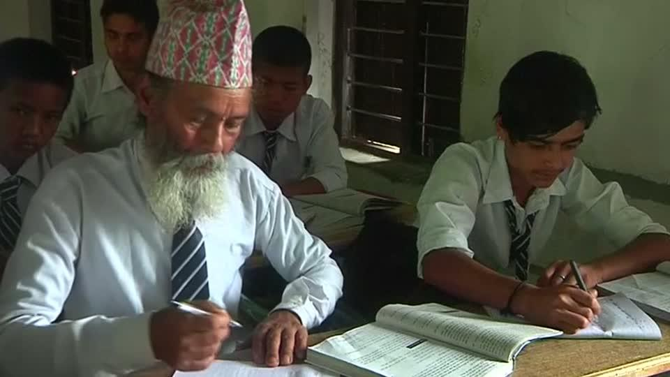 Nepal's oldest student?