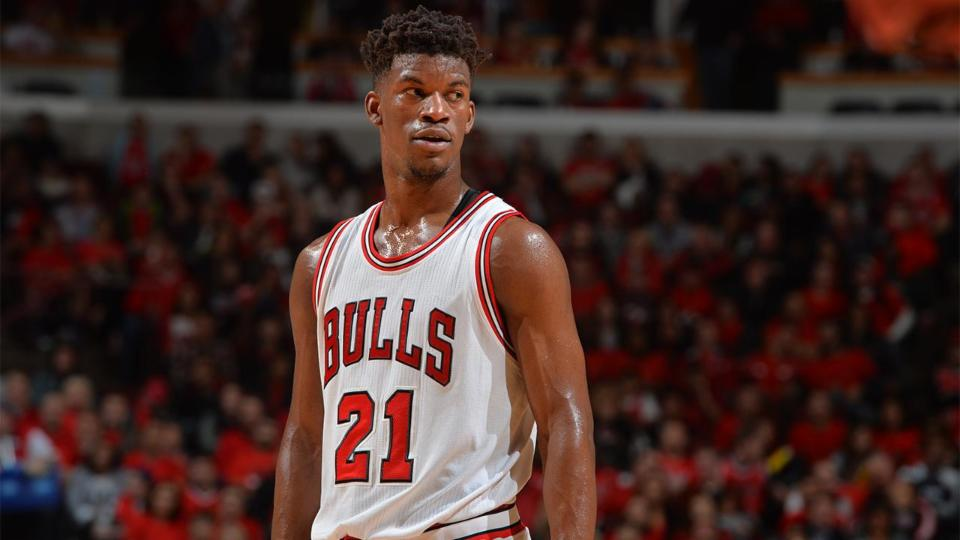 Report: Bulls want Andrew Wiggins, draft pick in Jimmy Butler trade