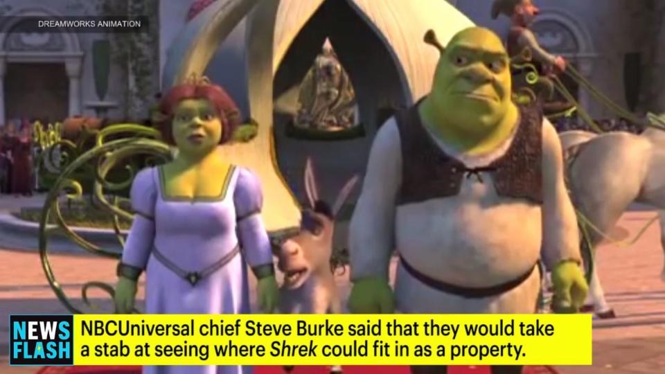 NBCUniversal Chief Says Shrek Franchise Could be Revived