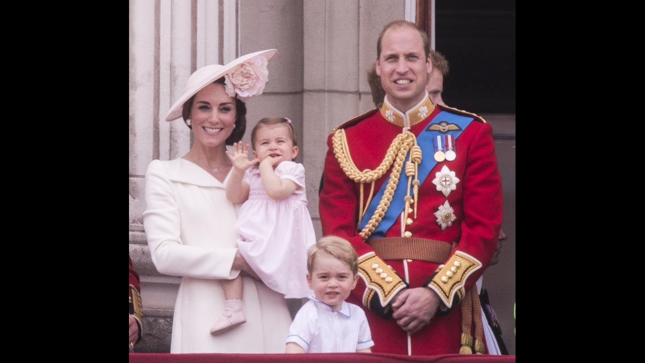 Princess Charlotte makes her Buckingham Palace balcony debut!