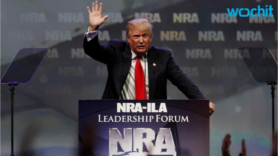Trump Plans Meeting With NRA To Discuss Gun Control Reform
