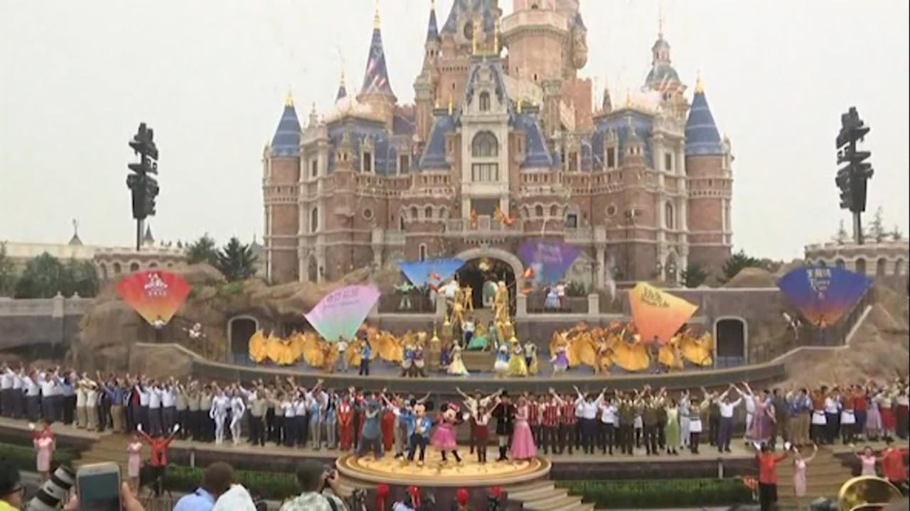 Raw: Disney Opens First Mainland China Theme Park