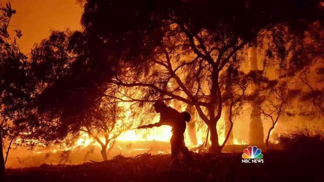 Wildfires Force Evacuations in Western States