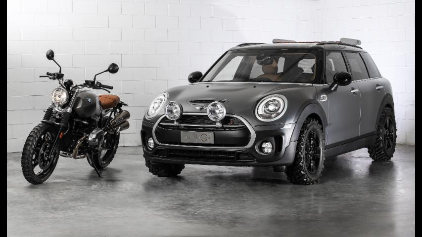 Mini Clubman All4 Scrambler Concept | Autoblog Minute