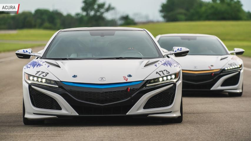 All-Electirc NSX To Tackle Pikes Peak | Autoblog Minute