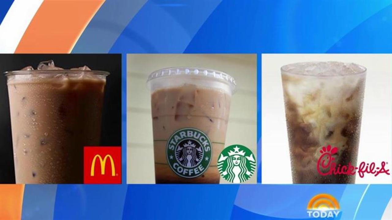 McD's, Starbucks, Chick-Fil-A: Which fast food faves have fewest calories?