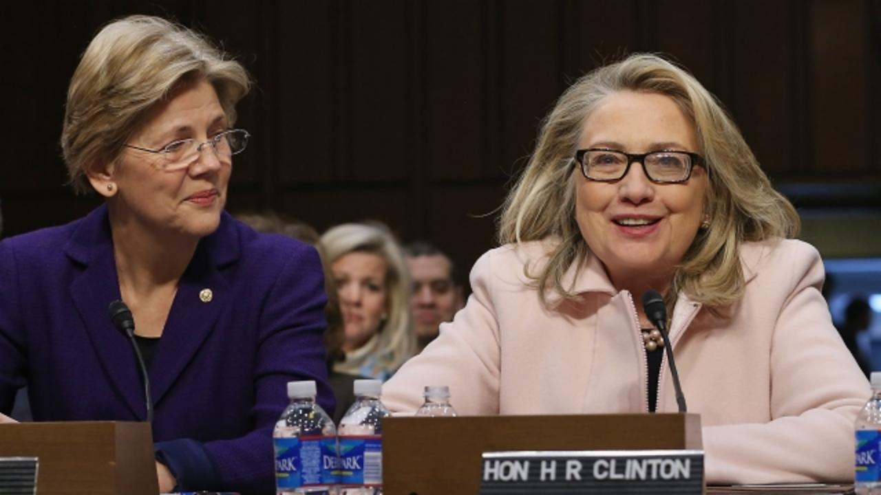 Elizabeth Warren Isn't Helping Clinton VP Rumors With Campaign Visit