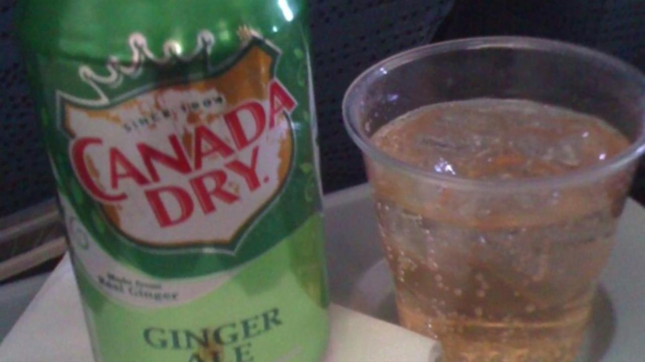 Why Do You Order Ginger Ale When On A Plane?