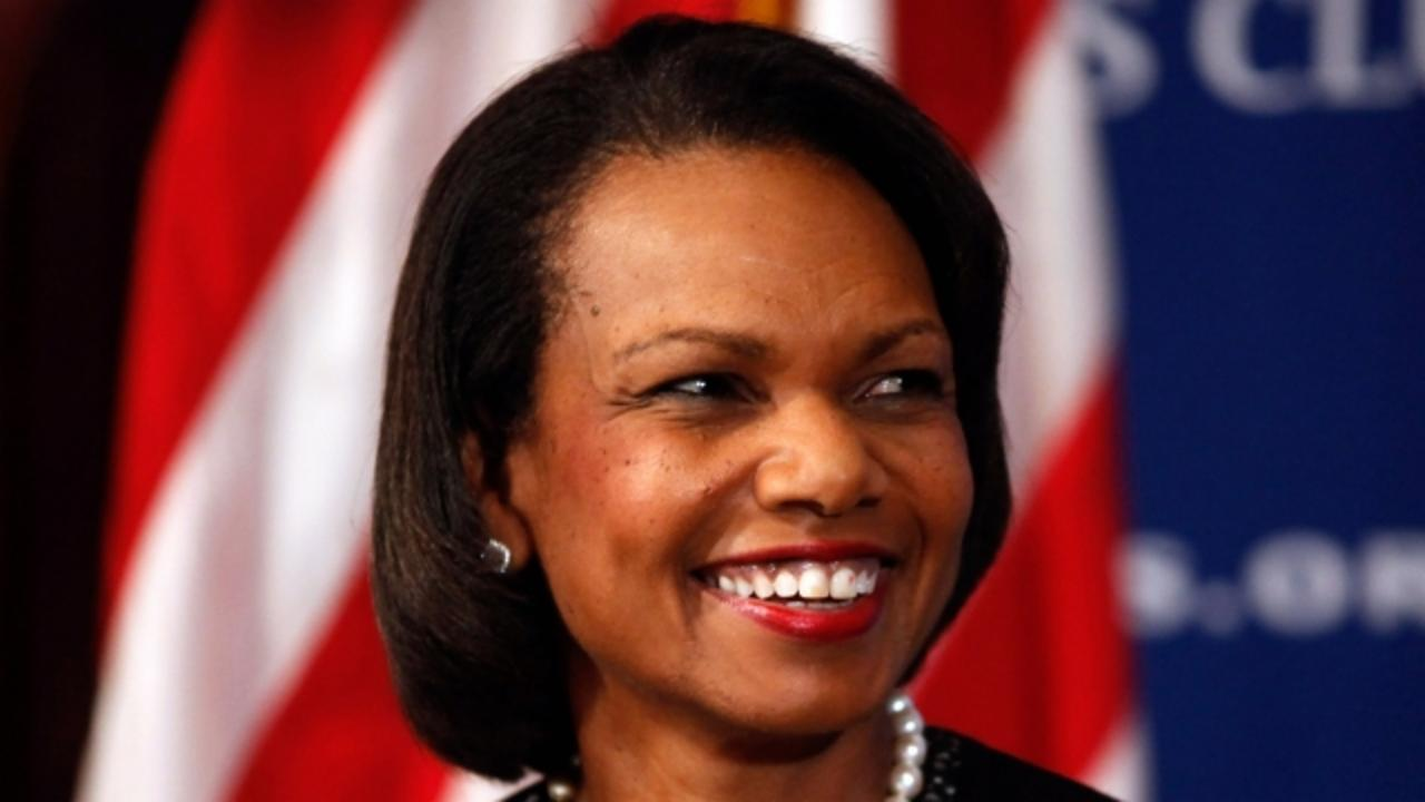 Condoleezza Rice 'Not Interested' in Being Donald Trump's Running Mate