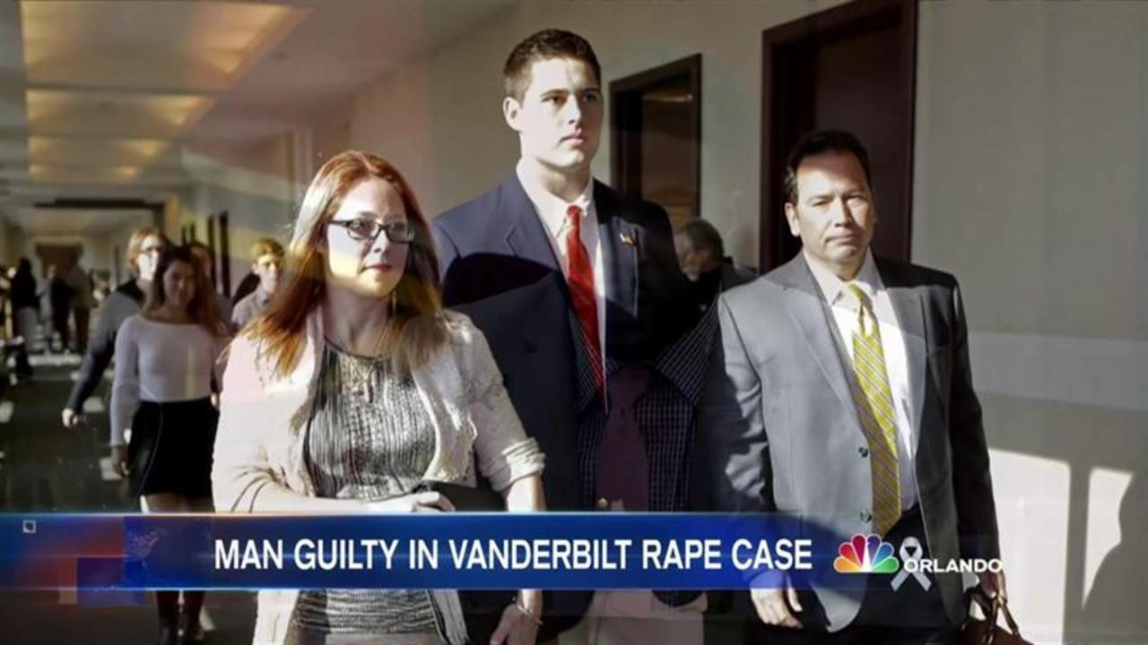 Former Vanderbilt University Football Player Found Guilty of Rape