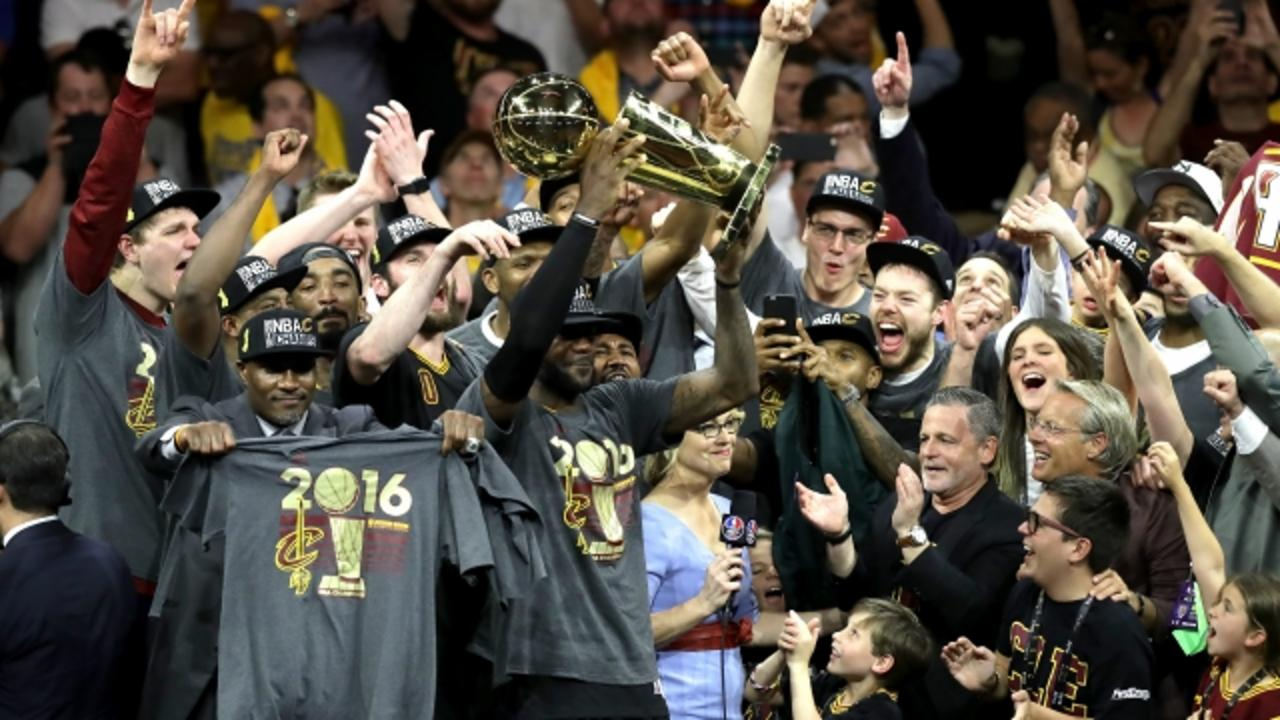 Cavaliers Win NBA Finals and End Cleveland's Long Championship Drought