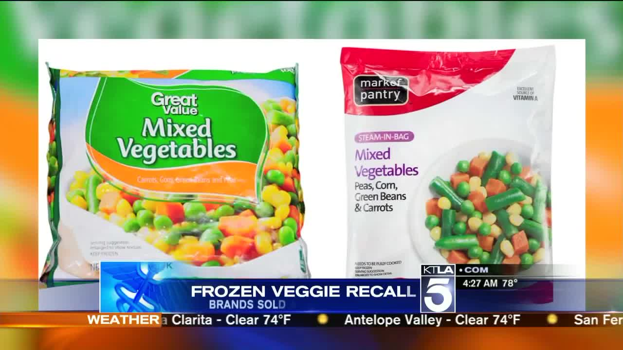 Walmart, Target Frozen Vegetables Recalled Due to Listeria Concerns